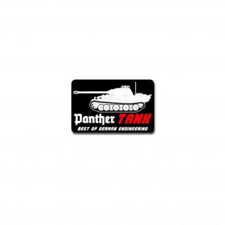 Panther TANK Aufkleber Sticker German Engineering Panzer 11x7cm#A4162