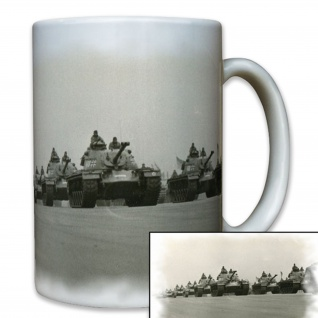 Bundeswehr Panzer Parade Deutschland M48 Patton Panzertruppe - Tasse #8063