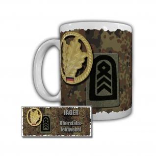 Tasse Jäger Oberstabsfeldwebel JgBrig 11 Panzergrenadierbrigade Bogen OSF #29718