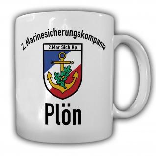 Tasse 2 Marinesicherungskompanie Plön MarSichKp Kaffee #20012