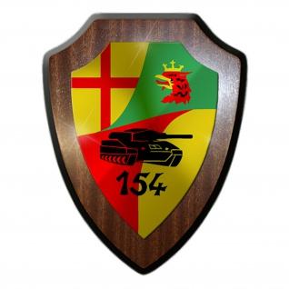 PzBtl 154 Panzerbataillon BW Heer Deutschland Militär Wappenschild #19810