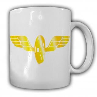 Tasse Flügelrad Bahn Kaffee Becher #22744
