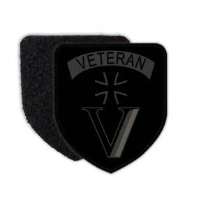 Patch Veteran BW Uniform Reservist Kameradschaft Dienstzeit Flausch #30967