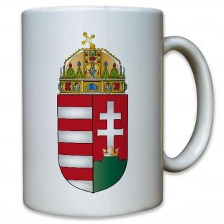 Ungarn Wappen Monarchie Abzeichen - Tasse Kaffee Becher #11453