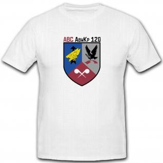Abc Abwehr Kompanie Militär Bundeswehr Einheit Wappen Abzeichen T Shirt #2886