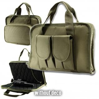 Tactical Pistolentasche für 2 Pistolen Holster Airsoft Transport 33x20cm #16280