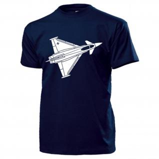 Bundeswehr Kampfflugzeug Luftwaffe Jet Flugzeug Düsenjet Euro T-Shirt #17764
