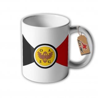 Tasse Ostafrikanische Eisenbahngesellschaft OAEG Kolonie Wappen Abzeichen #32643
