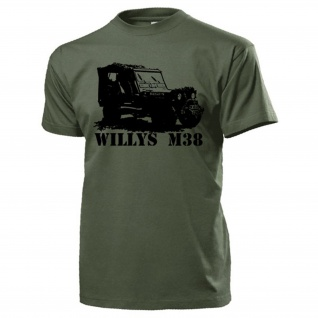 Willys M38 Us Army Militär Geländewagen Oldtimer USA Willys MB T Shirt #17109