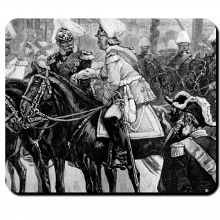 Kaiser Bismarck Mauspad Kaiser Wilhelm Otto Bismarck 1873 Kanzler Mauspad #16201