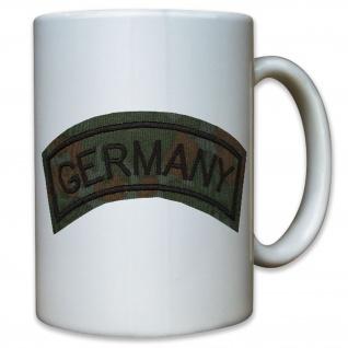 Abzeichen Germany Aufnäher Sticker Deutschland BW Uniform Einsatz - Tasse #10935