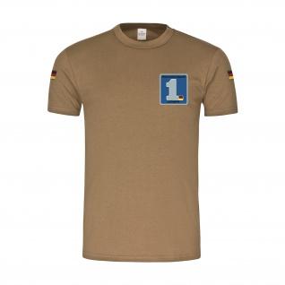 BW Tropen Einsatzgeschwader 1 SFOR Luftwaffe Bundeswehr Piaccenza T-Shirt#37509