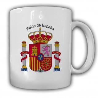 Tasse Republik Königreich Spanien Wappen Emblem Kaffee Becher #13912