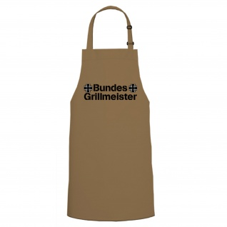 Kochen Schürze Bundeswehr Bundes Grillmeister Kochschürze / Grillschürze #4938