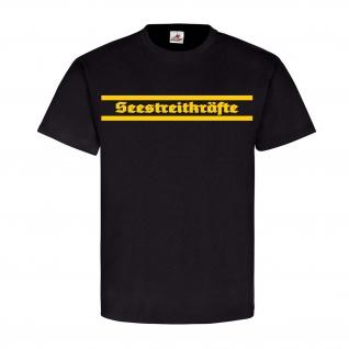 Seestreitkräfte der DDR Militär Einheit Truppe Wappen Siegel T Shirt #22676