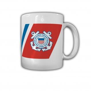 USCG Racing Stripe US Coast Guard Küstenwache Abzeichen USA - Tasse #26824