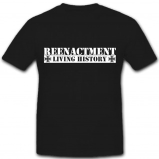 Reenactment US Army Living History Lebende Geschichte- T Shirt #4410