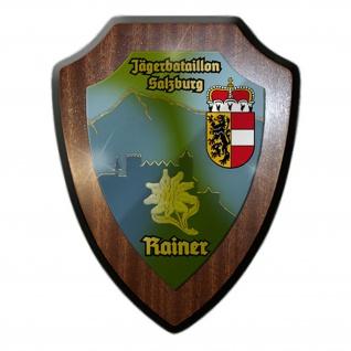 Wappenschild / Wandschild - Jägerbataillon Salzburg Erzherzog Rainer #13313