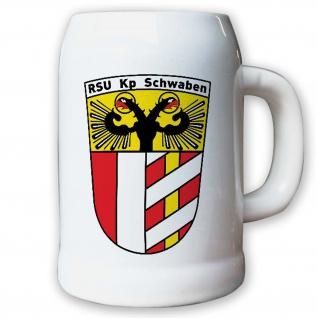Krug / Bierkrug 0, 5l - RSU Kp Schwaben Sicherungs Unterstützungskompanie #9164 K