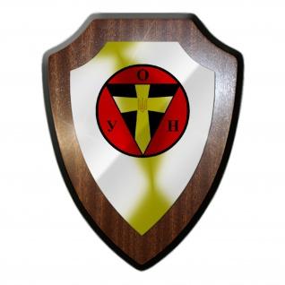 OUN B 01 Wappen Abzeichen Wappenschild Emblem Wandschild #27272