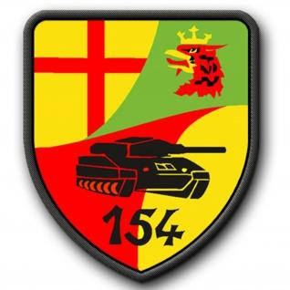Patch / Aufnäher - PzBtl 154 Westerburg Einheit Emblem Bundeswehr BW Panzerbataillon #2692