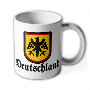 Bundesrepublik Deutschland BRD Adler Bundesadler Bundeswehr - Tasse #6266
