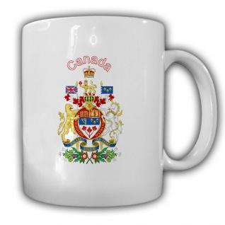Kanada Wappen_Emblem Canada Kaffee Becher #13534