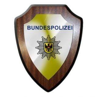 Wappenschild Bundespolizei BGS Bundesgrenzschutz Drogenkontrolle GSG9 #22097