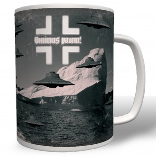 Haunebu Antarktis Ufo Flugscheibe Kaffee Tasse #4736