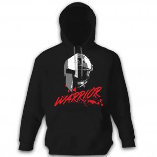 WARRIOR Soldat Sparta Krieger Kämpfer US United States Military - Hoodie #11120