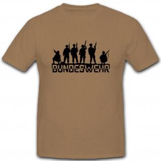 Bundeswehr Soldaten Team Einheit Armee - T Shirt #3802