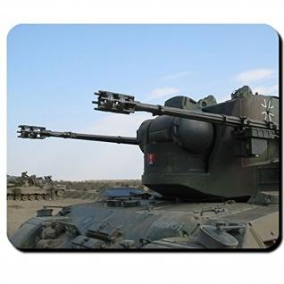 Flakpanzer Gepard Bundeswehr FlakPz Flugabwehr Panzer - Mauspad #9774