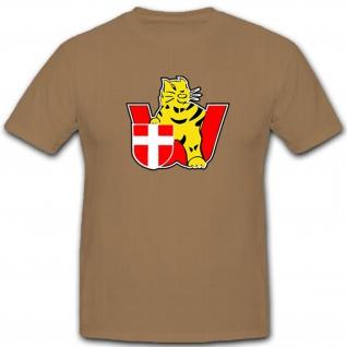 sPzAbt 506 Wien Tiger Panzer Taktisches Zeichen Wappen Abteilung T Shirt #12653