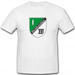 1 Kpwachbtl Kompanie Wachbataillon Bundesministerium Verteidigung T Shirt #4289