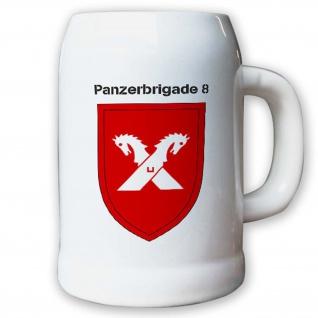 Krug / Bierkrug 0, 5l -10.Bierkrug Panzerbrigade8 PzBrig8 Brigade #12974