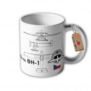 Tasse Avia BH-1 tschechoslowakisches Sportflugzeug Akiova Spolecnost #32906