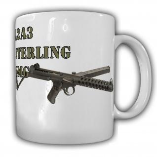 Sterling Maschinenpistole British Army MPi C1 Kanada Großbritannien Tasse #16320