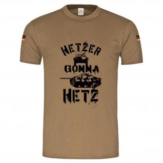 BW Tropen Hetzer gonna Hetz Panzer Tank Bundeswehr Tropenshirt #15061