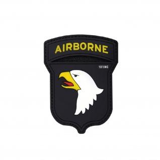 Air Borne Patch Einheit Airsoft Softair Luftlande America Aufnäher 9x7cm #20288