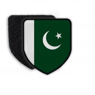 Patch Flagge von Pakistan Fahne Emblem Land Flagge Landesflagge Wappen #21517