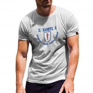 SanBtl 3 Sanitätsbataillon Wappen Kompanie Abzeichen Sanitäter T Shirt #15502