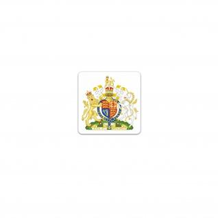 Vereinigtes Königreich Aufkleber United Kingdom Großbritannien 7x7cm#A3636