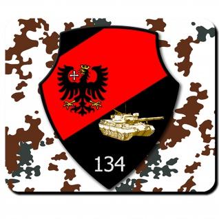 Deutschland Bundeswehr Panzer Leo 1a1 Bw Pzbtl 134 PzBtl 134- Mauspad #6403