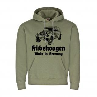 Hoodie Kübelwagen KDF Bundeswehr Militär Germany Kapuzenpullover #25938