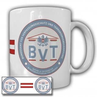 Tasse BVT Österreich Bundesamt Verfassungsschutz bekämpfung Alpen-Republik 20673