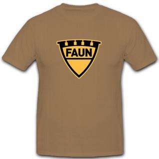 Faun Nutzfahrzeughersteller Kraka Kraftkarren Bundeswehr- T Shirt #12253