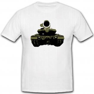 Leo 2 A6M Panzer Kampfwagen Bundeswehr Deutschland - T Shirt #12800