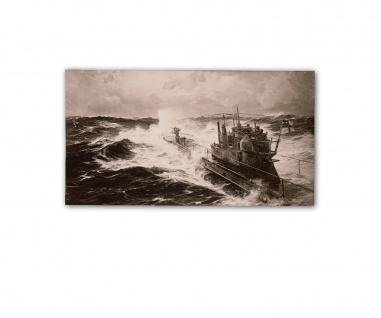 Poster U53 im Atlantik Claus Bergen Fahrt nach Nordamerika ab 30x20cm #33148