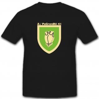 2PzGrenBtl41 Bundeswehr Heer Militär - T Shirt #7718