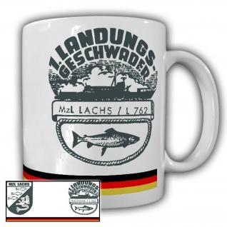 Tasse MZL Lachs L762 Landungsboot Marine Bundeswehr Kaffee Becher #24691